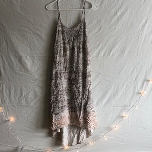 Anthropologie Marble Dress